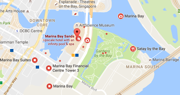 Aircon Servicing in Marina Bay